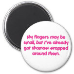 Mamaw's Wrapped (Pink) Fridge Magnet