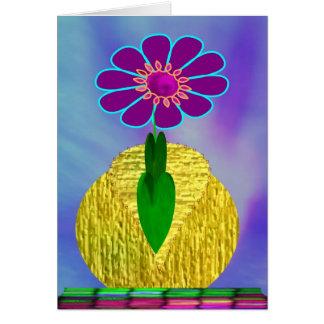 MaMaw's Flower Greeting Card