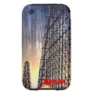 Mamba Rollercoaster World's of Fun Kansas City iPhone 3 Tough Covers
