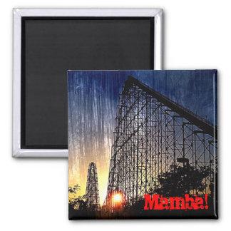 Mamba Rollercoaster World's of Fun Kansas City Magnet