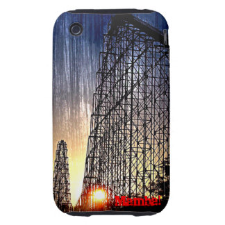 Mamba Rollercoaster World's of Fun Kansas City Tough iPhone 3 Case