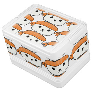 Mamesushi - Cute Sushi Can Cooler Igloo Cool Box