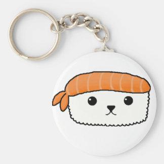 Mamesushi - Cute Sushi key ring Basic Round Button Key Ring