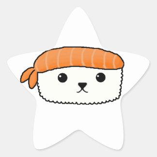 Mamesushi - Cute Sushi sticker Star Stickers