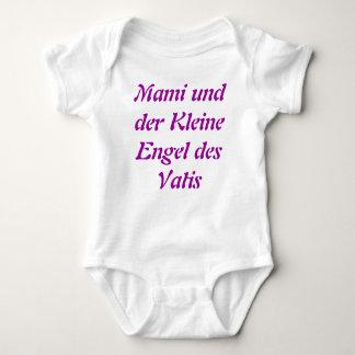 Mami und der Kleine Engel des Vatis, German onsie Baby Bodysuit