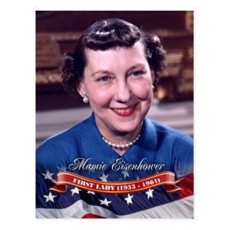 Mamie Eisenhower, First Lady of the U.S. Postcard