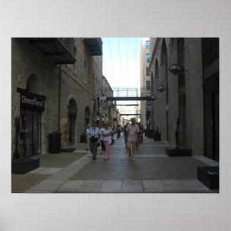 Mamilla Mall Jerusalem Poster