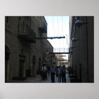 Mamilla Mall Jerusalem Posters