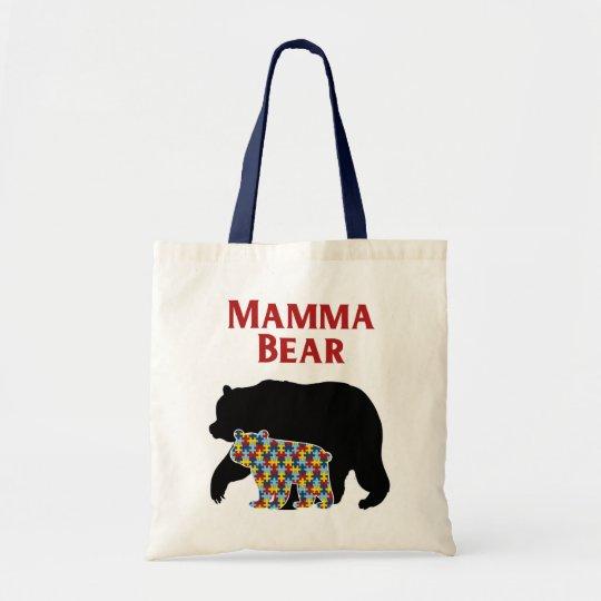 Mamma Bear, Autism Mum Pride Tote Bag