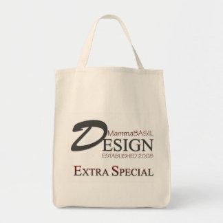 MammaBASIL Design Grocery Bag! Tote Bag