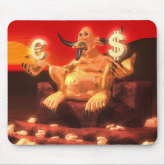 Mammon Demon God of Money Mouse Pads