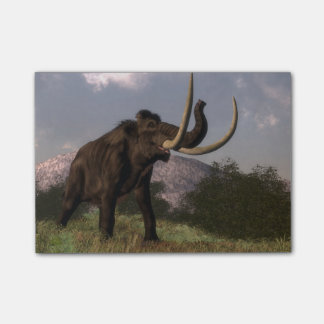 Mammoth - 3D render Post-it Notes