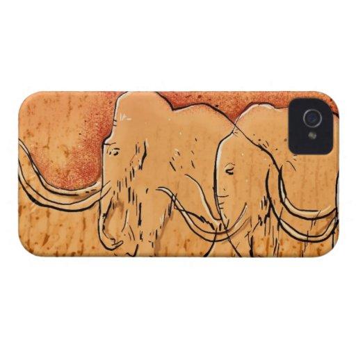 Mammoth Cave Art iPhone Case iPhone 4 Case-Mate Cases