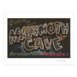Mammoth Cave, Kentucky - Large Letter Scenes Post Cards
