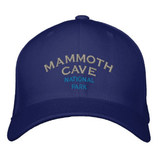 Mammoth Cave National Park Embroidered Cap