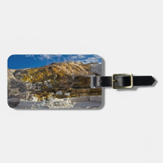 Mammoth Hot Spring Luggage Tag