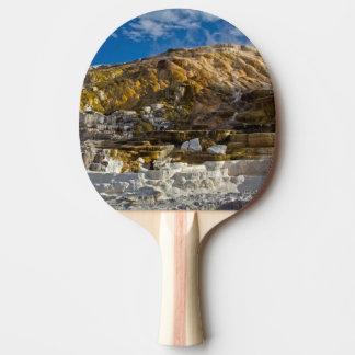 Mammoth Hot Spring Ping Pong Paddle