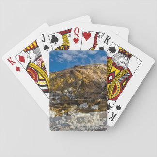 Mammoth Hot Spring Playing Cards
