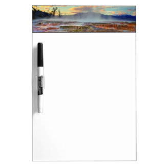 Mammoth Hot Springs Dry Erase Board