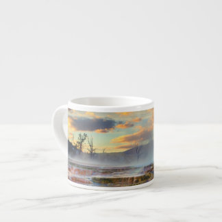 Mammoth Hot Springs Espresso Cup