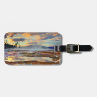Mammoth Hot Springs Luggage Tag