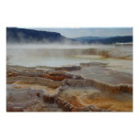 Mammoth Hot Springs - Yellowstone Print