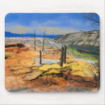 Mammoth Hotsprings Mouse Pads