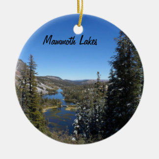 Mammoth Lakes, CA Christmas Ornament