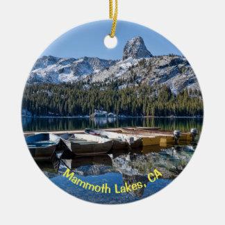Mammoth Lakes, CA Christmas Ornament