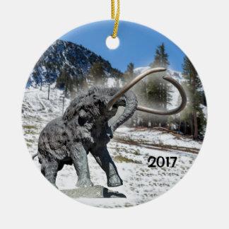 Mammoth Mountain, CA Christmas Ornament