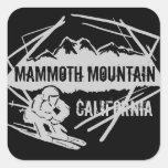 Mammoth Mountain California ski mountain stickers