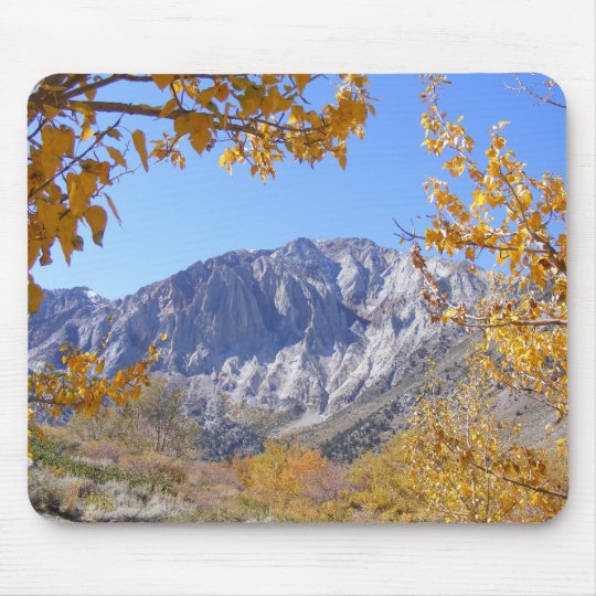 Mammoth Mountain In The Fall Mouse Mat