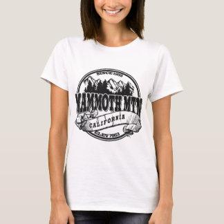 Mammoth Mountain Old Circle Black T-Shirt