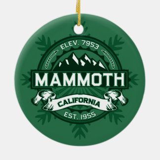 Mammoth Mtn Forest Christmas Ornament