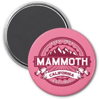 Mammoth Mtn Honeysuckle 7.5 Cm Round Magnet
