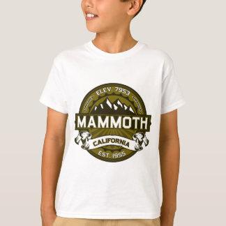 Mammoth Mtn Olive T-Shirt
