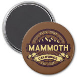 Mammoth Mtn Sepia Refrigerator Magnets
