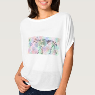 Mammoth skeleton watercolour T-Shirt