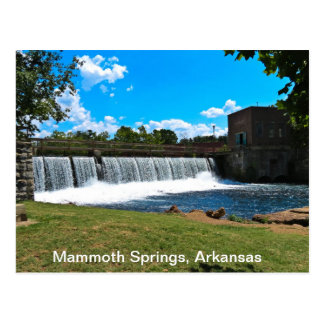 Mammoth Springs Arkansas Postcard
