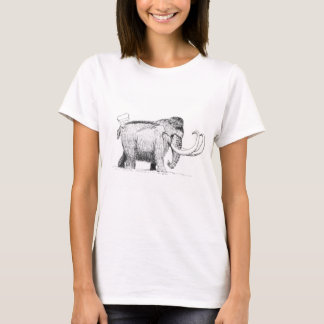 Mammoth with his bear friend! T-Shirt