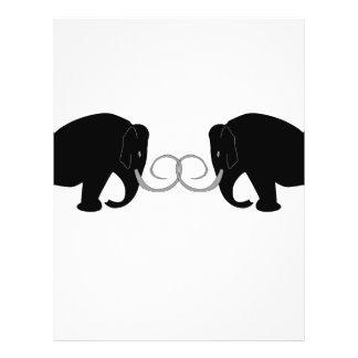 Mammoths Birthday Flyers