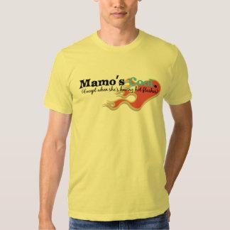 Mamo has Hot Flashes Tshirt