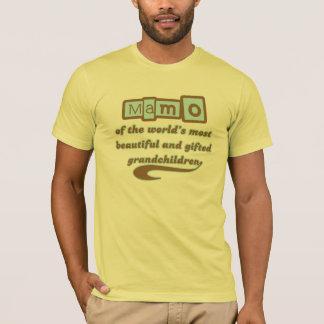 Mamo of Gifted Grandchildren T-Shirt