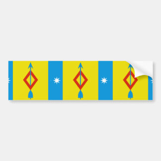 Mamontovskoe(Moscow Oblast), Russia flag Bumper Stickers