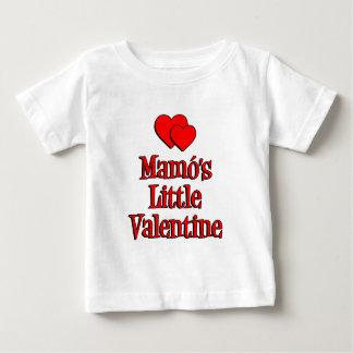 Mamo's Little Valentine Baby T-Shirt
