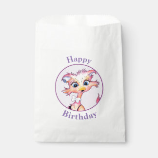 MAMZELL CUTE CARTOON   bag WHITE Favor 2