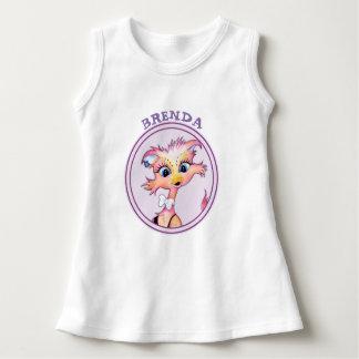 MAMZELLE FOOTBALL Baby Sleeveless Dress