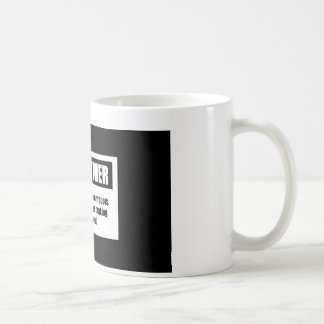Man Alive Mug (Disclaimer)