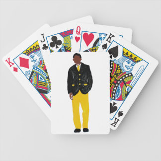 Man - Alpha Bicycle Playing Cards