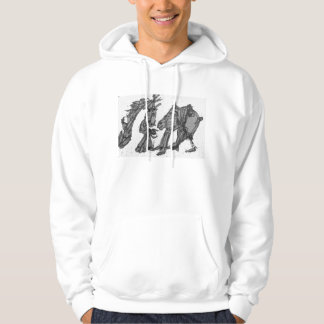 man and his horse hoodie